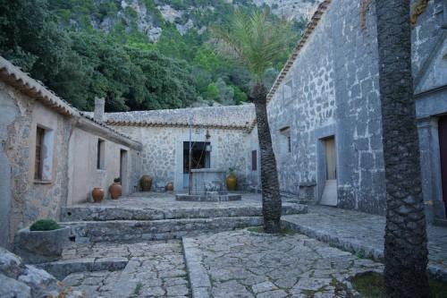 Innenhof der Ermita